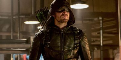 the green arrow